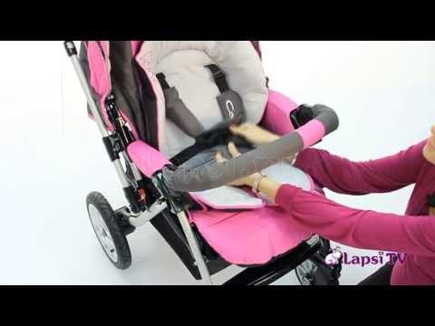 Прогулочная коляска Capella S-803 с накидкой на ножки (Капелла)