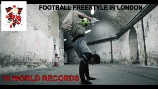 Conman tries his hand at learning some football/soccer tricks with football star and professional freestyler Ash Randall who holds 18 football/soccer world r...