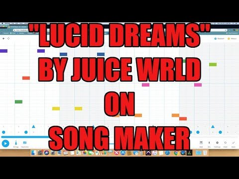 """Lucid Dreams"" Juice Wrld Beat On Song Maker By Chrome Music Lab"