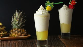 Pineapple Ice Cream Float For A Tropical Staycation • Tasty by Tasty