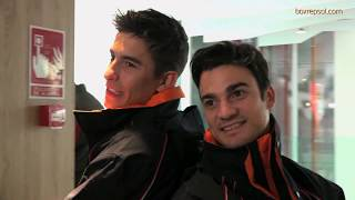 Video Marc Márquez and Dani Pedrosa, with Hidden Cameras at a Repsol service station MP3, 3GP, MP4, WEBM, AVI, FLV September 2018