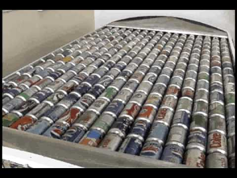 Brilliant Newfoundlander creates Solar Panel using over 200 soda cans which creates large amounts of heat and power. Great for off grid homes