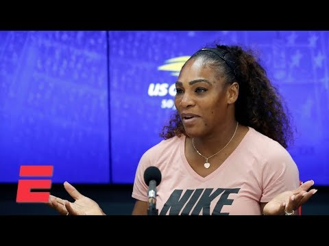 2018 US Open press conference: Serena Williams says I don't need to cheat to win   ESPN