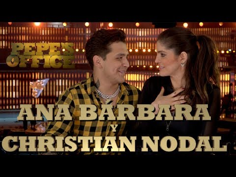 ANA BÁRBARA Y CHRISTIAN NODAL HABLAN DE SU DUETO - Pepe's Office - Thumbnail