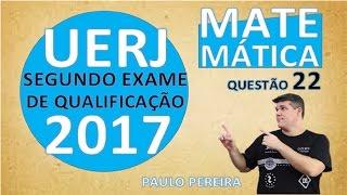 Neste vídeo o professor Paulo Pereira resolve a questão 1 do 2º exame de qualificação UERJ - 2017 Observe a matriz Para que o determinante dessa matriz ...