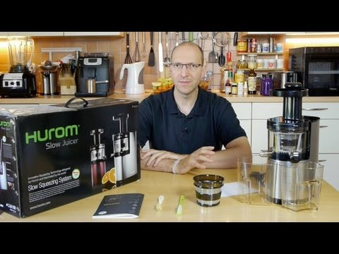 Hurom Slow Juicer - Review & Test (Entsafter) [VEGAN]