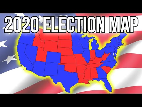 New 2020 Presidential Election Map Prediction