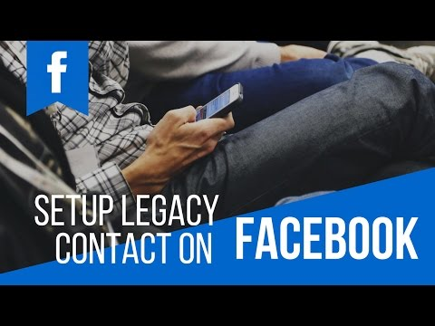 (Facebook Tutorial: How To Setup Legacy Contact ? - Duration: 86 seconds.)
