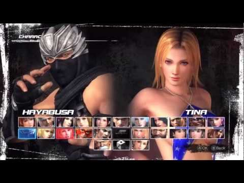 Dead Or Alive 5 ~ How to get Tina/Christie/Lisa rare swimsuit with Hayabusa on Legend Difficulty