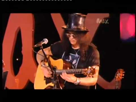 Acoustic - Sweet Child O Mine - rare acoustic. Slash is back, along with its partners, and this acoustic concert with Myles Kennedy, played a riff of the world's best k...