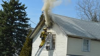 Bowmansville (NY) United States  city pictures gallery : Town Line FD Working Fire - 5936 Broadway