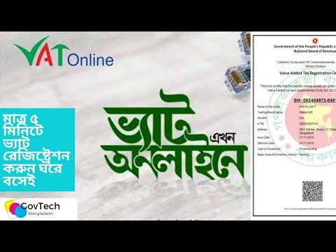 13 Digit Bin Registration In Bangladesh | How to get bin certificate | BIN Registration Bangladesh