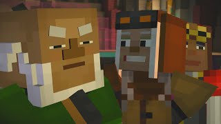 Minecraft Story Mode - OLIVIA HAS PARENTS!?!?!