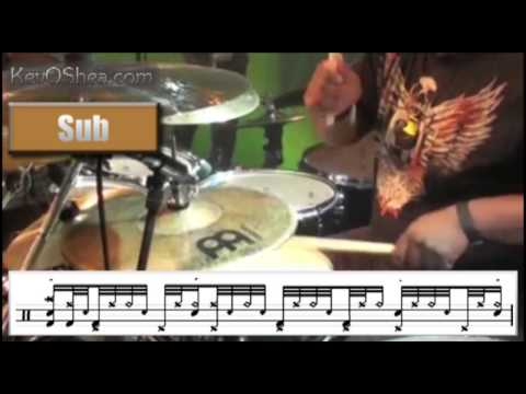 Free Drum Lessons | Chris Coleman Halftime Groove
