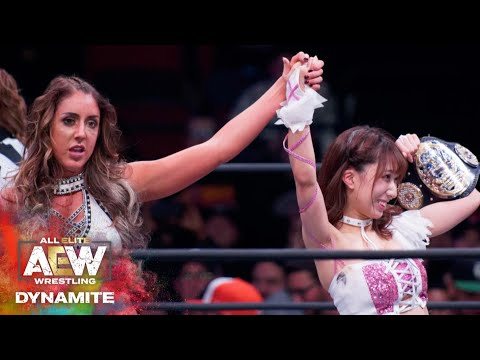 #AEW DYNAMITE EPISODE 2: RIHO AND DR. BRITT BAKER GET THE WIN