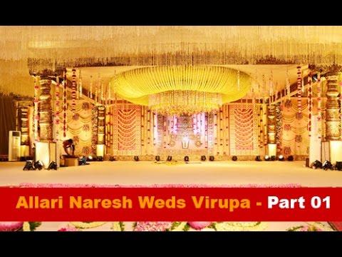 Allari Naresh Weds Virupa