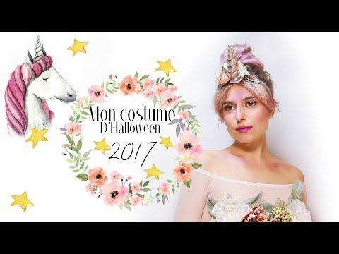 MON DÉGUISEMENT D'HALLOWEEN 2017 // Une Licorne Enchantée