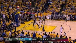 San Antonio Spurs vs Golden State Warriors - May 14, 2017