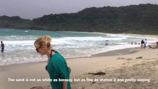 Pagudpud Philippines  City new picture : Blue Lagoon Beach Sand Pagudpud Ilocos Norte Hannah's Zipline by HourPhilippines.com