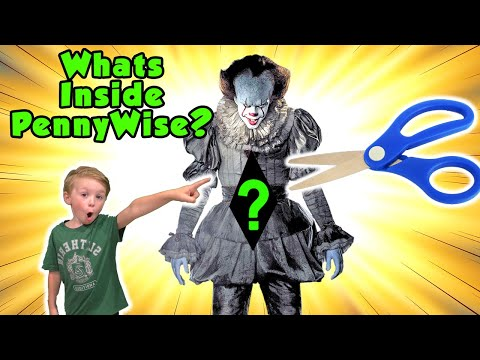 What's Inside Pennywise? We Cut Open Pennywise