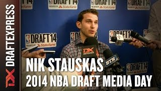 Nik Stauskas 2014 NBA Draft Media Day Interview