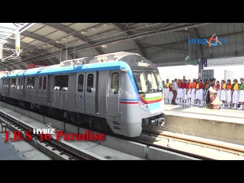 Hyderabad Metro Rail Stations and Timings