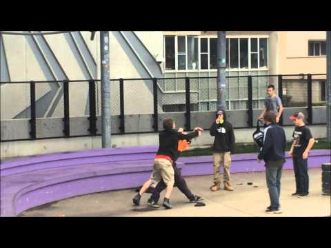 SKATEPARK FIGHT