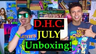 DHC JULY UNBOXING! Dollar High Club by Take a Break with Aaron & Mo