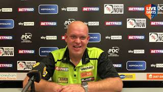 """Michael van Gerwen: """"Peter says so much nonsense. Normally when he plays me his bum goes twitchy"""""""