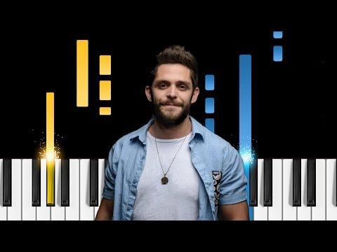 Video Thomas Rhett - Marry Me - Piano Tutorial / Piano Cover download in MP3, 3GP, MP4, WEBM, AVI, FLV January 2017