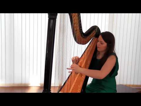 Harpist Rhianwen plays Libertango