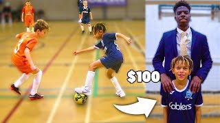 Video I Donated a Kid $100 Football Boots Only If His Team Wins Soccer Match MP3, 3GP, MP4, WEBM, AVI, FLV Desember 2018