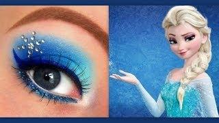 Disney's Frozen: Elsa makeup tutorial - YouTube