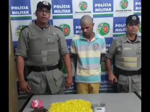 PM estoura 'boca de fumo' e dão prejuízo de R$ 40 mil ao tráfico de drogas, em Mineiros (GO)