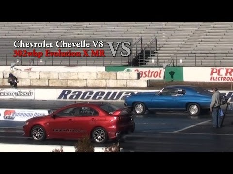 Chevelle vs. Evo