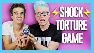 The Shock Torture Game (ft. Joe Sugg) | Tyler Oakley