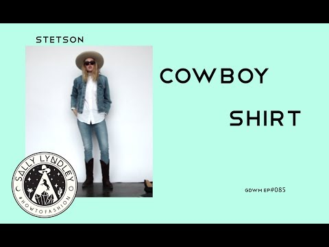 Five Ways To Style A Western Shirt with Stetson: Get Dressed With Me!
