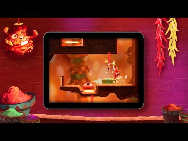 Rayman Fiesta Run -- Reveal Trailer [EUROPE]