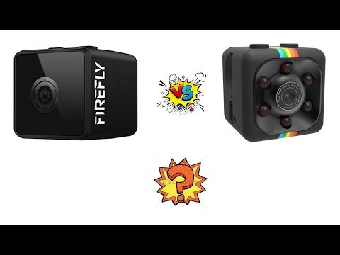 Hawkeye Firefly Micro vs SQ11 Camera - Video Comparison - Which One is good? - From Banggood