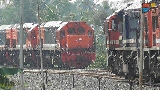 Video The Biggest and Longest Train in Indonesia MP3, 3GP, MP4, WEBM, AVI, FLV Februari 2018