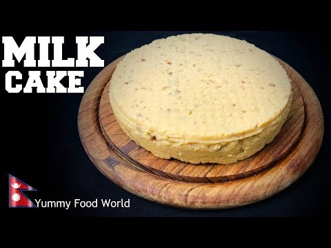 (MILK CAKE | दुध केक | Simple Easy Recipe | Anyone can make - Yummy Food World - Duration: 7 minutes, 19 seconds.)
