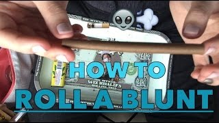 How To Roll A Blunt/Blunt Wrap by Alondra Bravo