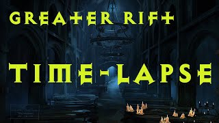 Diablo 3 Time-lapse of 20 Greater Rifts 2.2