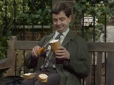 Mr Bean - Sandwich making -- Mr Bean