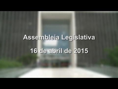 Plenária ALESP 16/04/2015