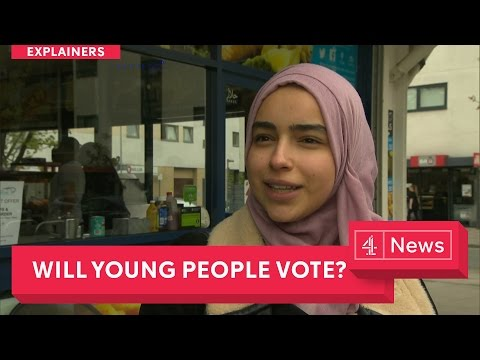 General Election Issues 2017: Young people voting - will they turn out?