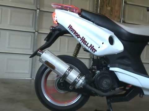 GY6 150cc Stock Muffler Mod