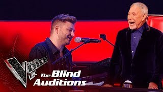 Video Sir Tom Jones & Peter Donegan's 'I'll Never Fall In Love Again' |Blind Auditions| The Voice UK 2019 MP3, 3GP, MP4, WEBM, AVI, FLV Januari 2019