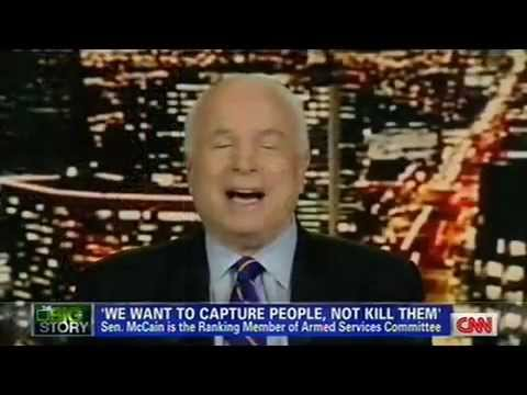 John McCain w/ Piers Morgan: Defends Critcism of Rand Paul Filibuster ~ CNN 3/8/2013