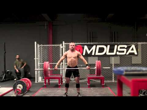 Mike's 121 kg Snatch Complex